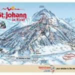 Ski slopes St Johann, Skiing in St Johann Austria, Ski Austria, Skiing in Austria, St Johann