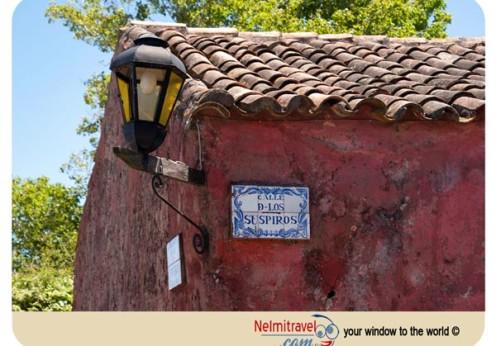 Colonia del Sacramento,Street of Sighs,Calle de los Suspiros; Uruguay