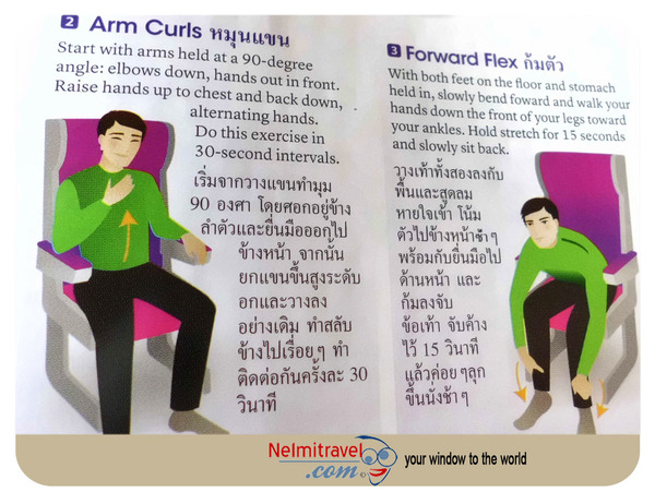 In flight Exercises,DVT,Deep Vein Thrombosis,Long Flights and Deep Vein Thrombosis,Deep Vein Thrombosis treatment,Economy Class Syndrome
