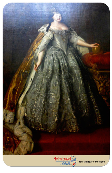 Portrait of Empress Anna Ioannovna; Государственная Третьяковская Галерея; третьяковка галлерея; Moscow Museums; Russian paintings; The State Tretyakov Gallery; Travel Moscow; Museum Moscow; Museum Art; Art Gallery Museum; Moscow Tourist Guide; Государственная Третьяковская Гал;