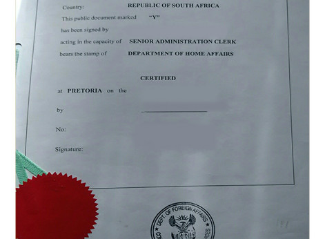 Apostille South Africa; Legalize and Apostille documents South Africa; Legalize documents South Africa; DIRCO