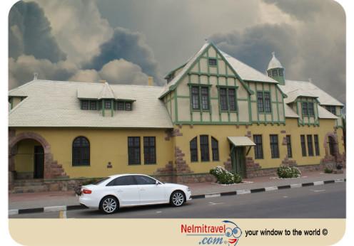 Altes Gefängnis; Old prison in Swakopmund; Swakopmund; Tourist attractions; Namibia;