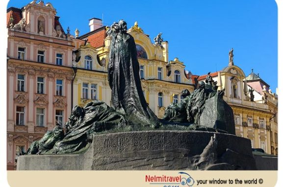 Jan Hus, Reformer Jan Hus, Jan Hus Monument Prague;